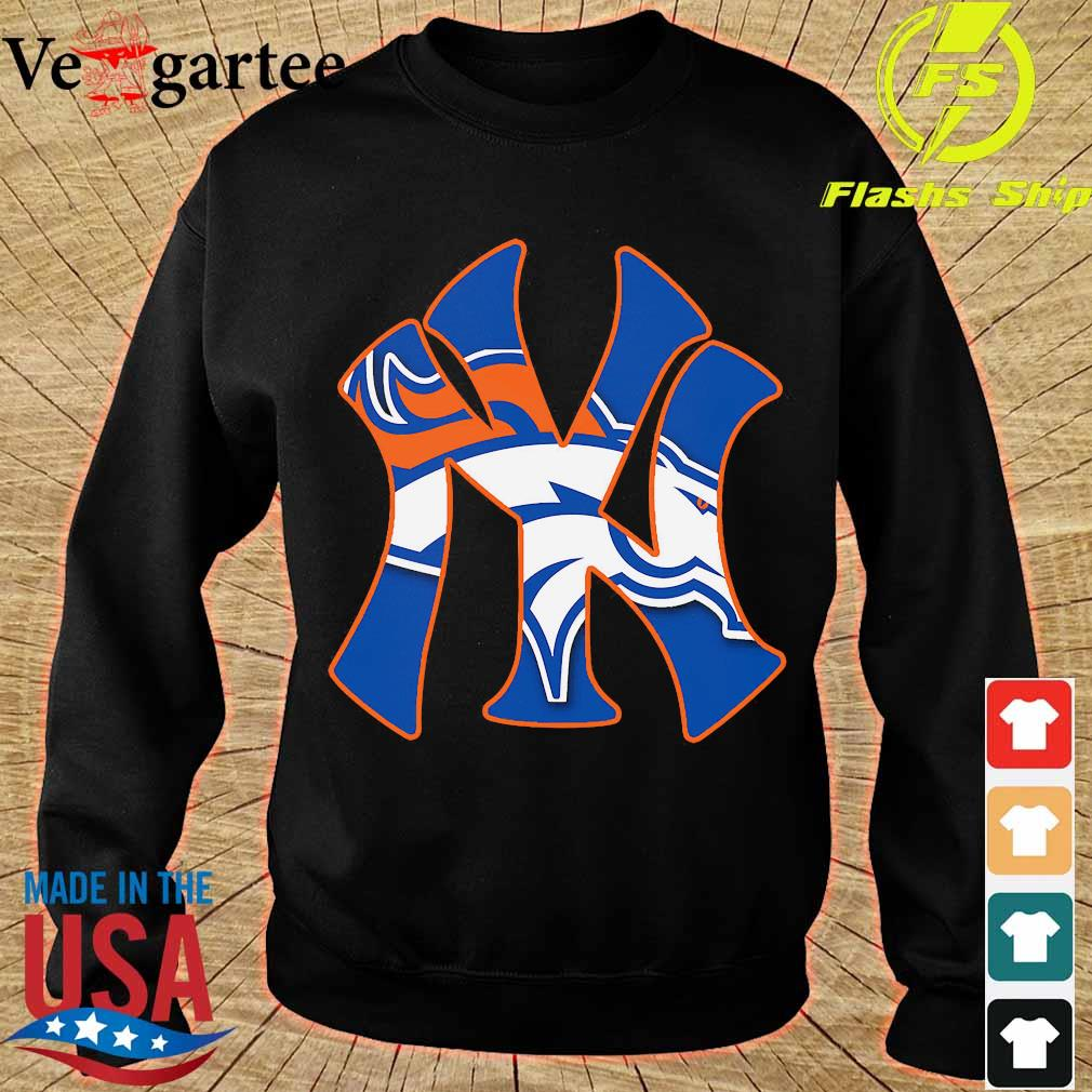 New York Yankees and Denver Broncos s sweater