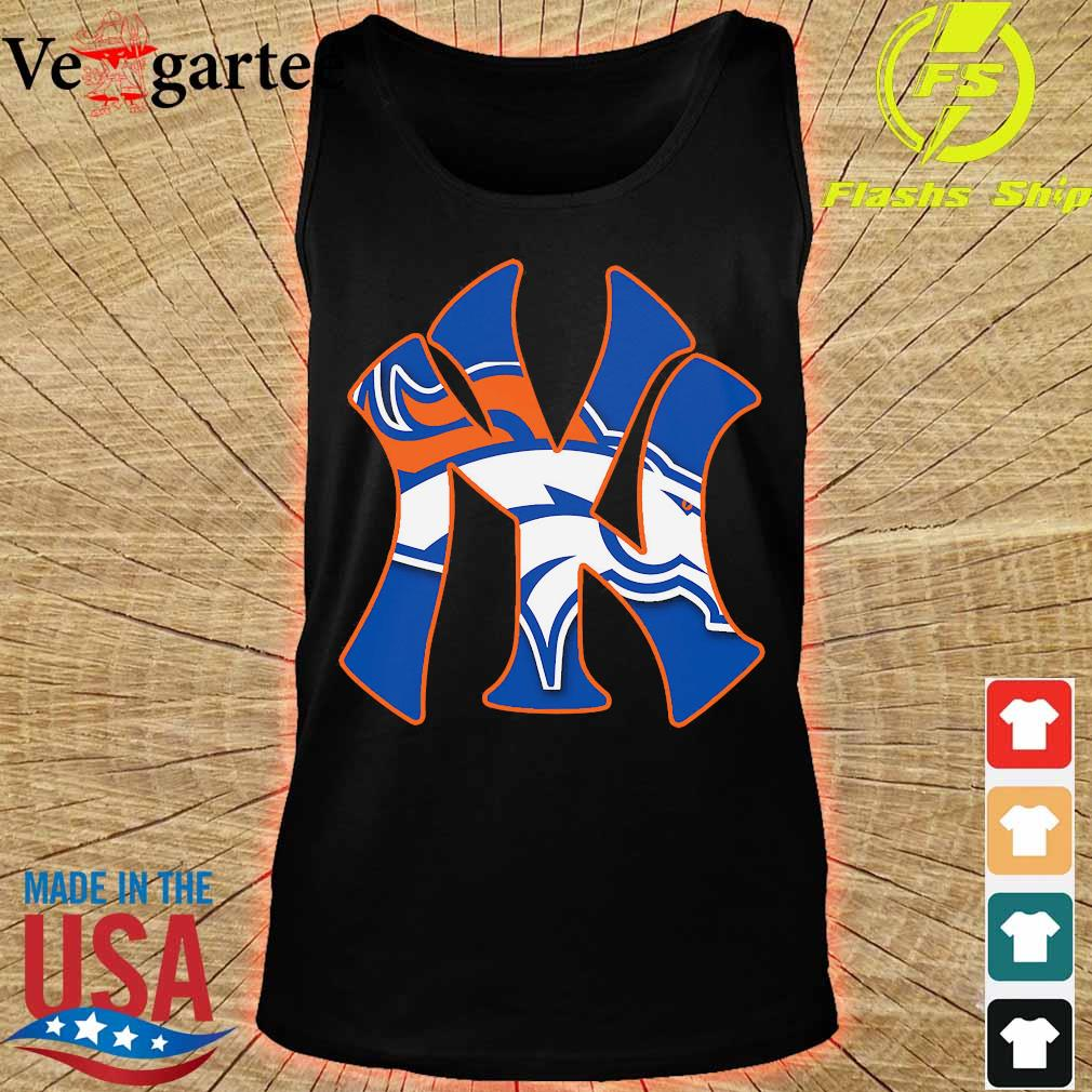 New York Yankees and Denver Broncos s tank top