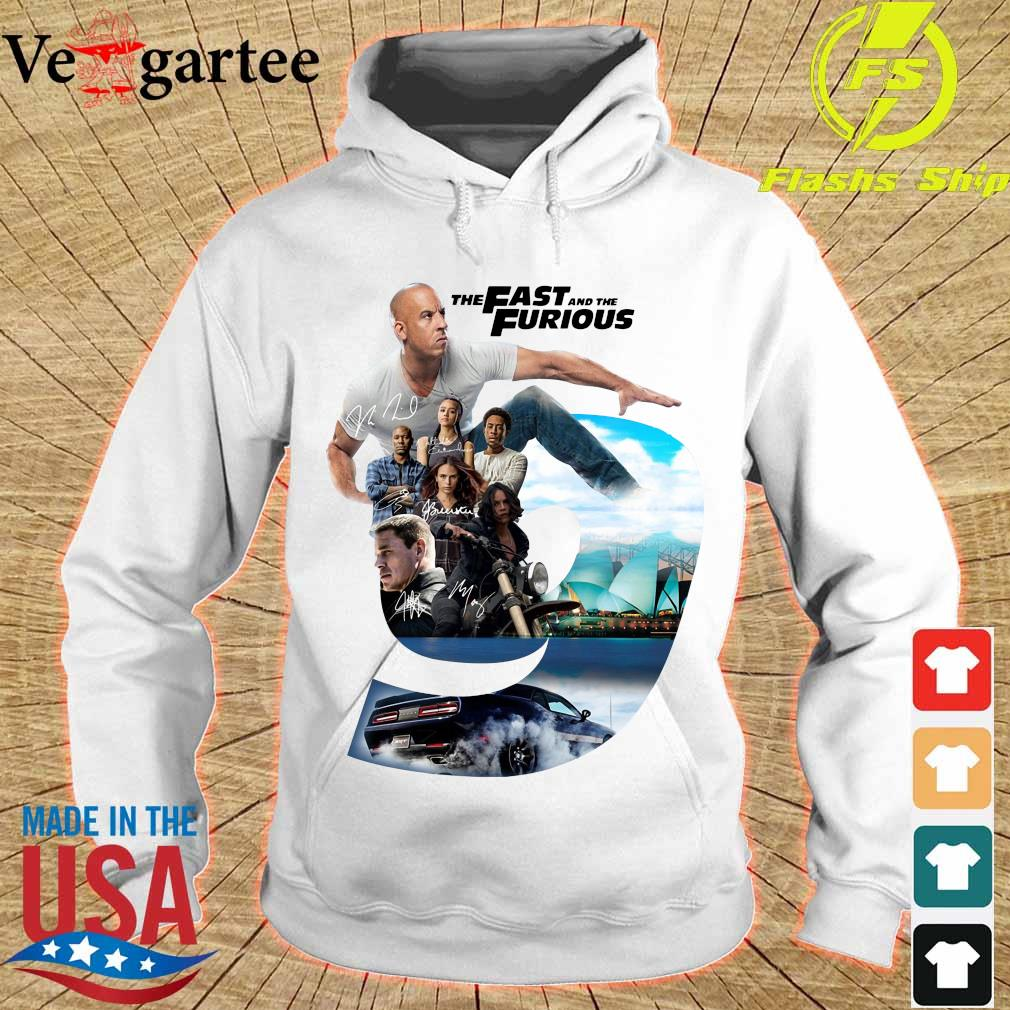 Nice the Fast and the Furious 9 signatures s hoodie