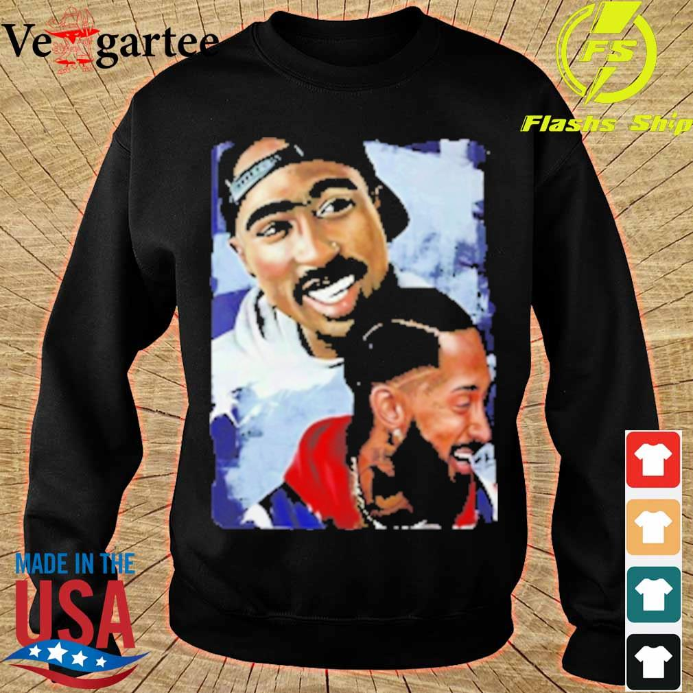 Nipsey Hussle Rapper Smiling s sweater