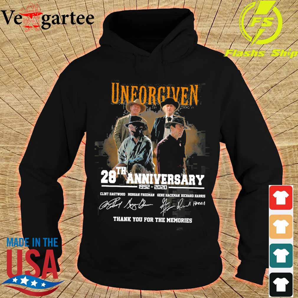 Official Unforgiven 28th anniversary 1992 2020 signatures s hoodie
