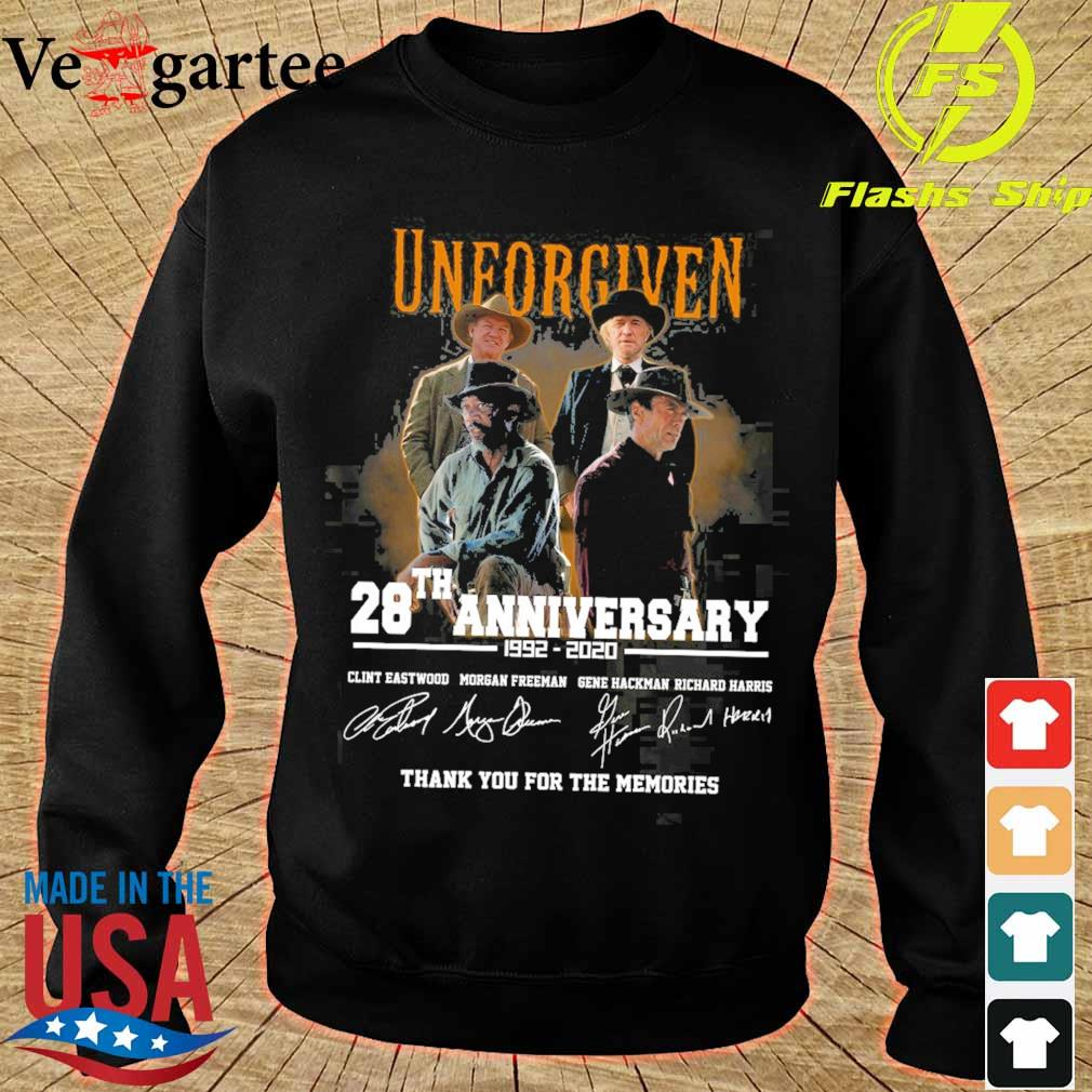 Official Unforgiven 28th anniversary 1992 2020 signatures s sweater