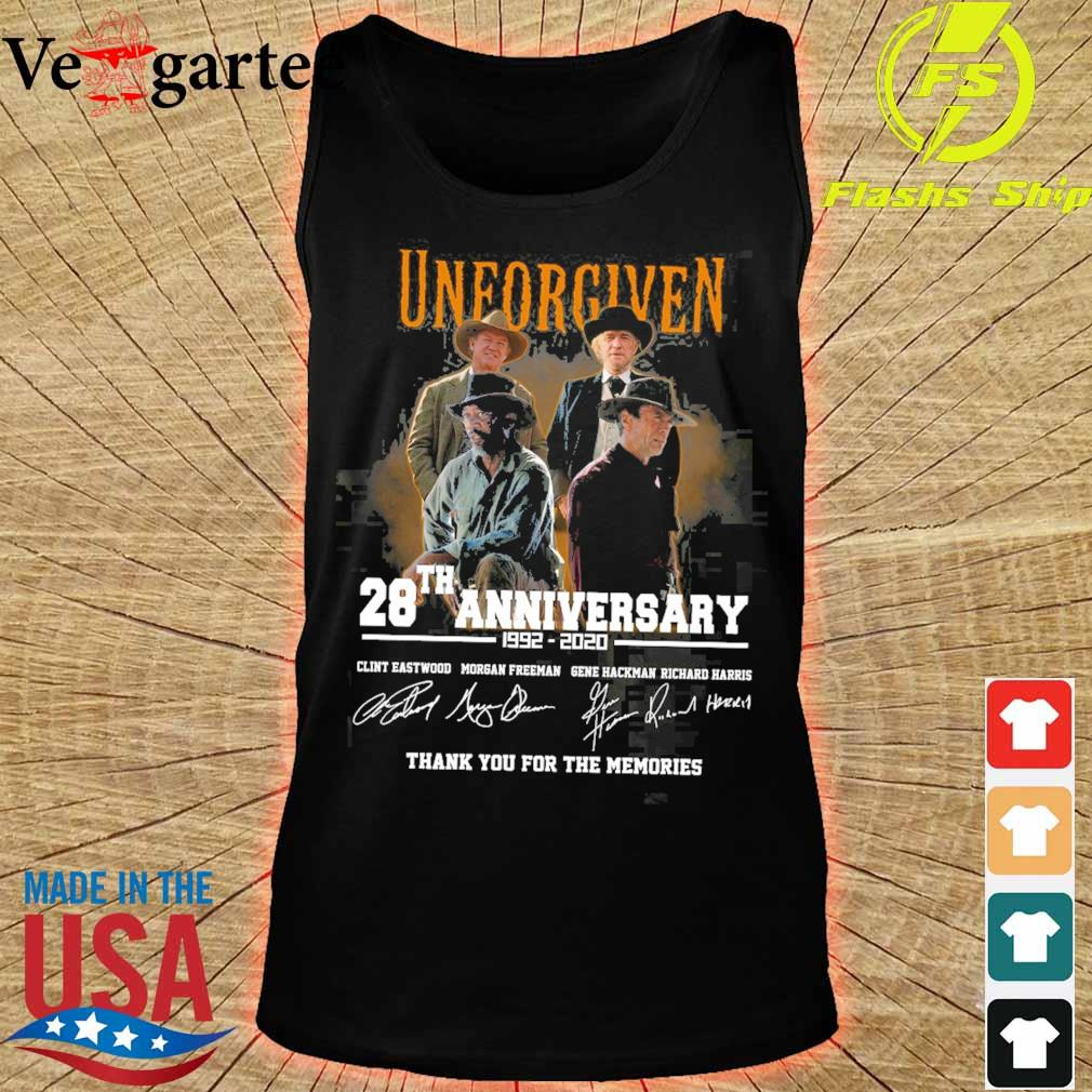 Official Unforgiven 28th anniversary 1992 2020 signatures s tank top