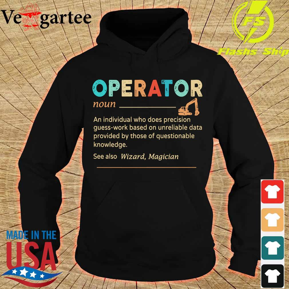 Operator definition s hoodie