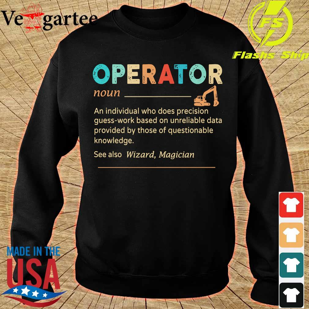 Operator definition s sweater