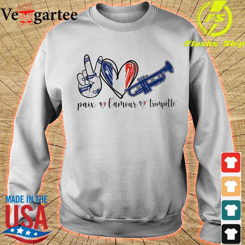 Paix amour trumpet s sweater