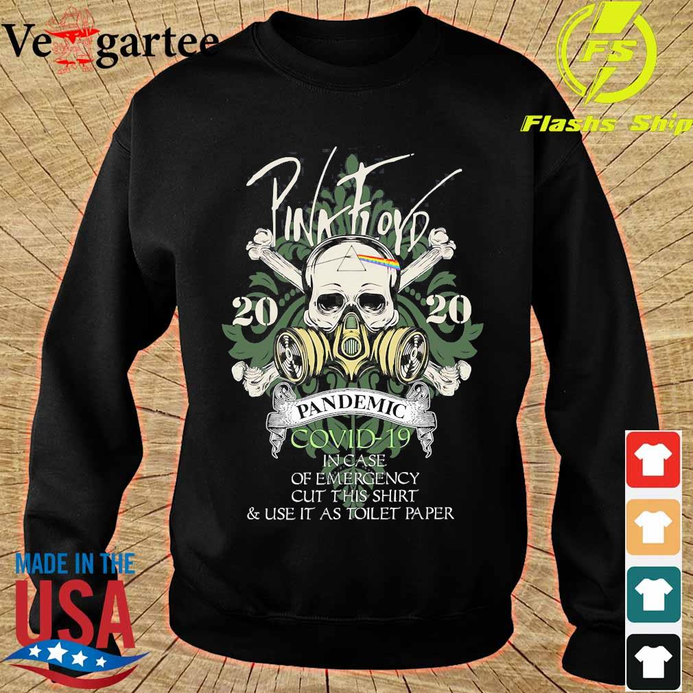 Pink floyd 2020 pandemic covid 19 in case of emergency s sweater