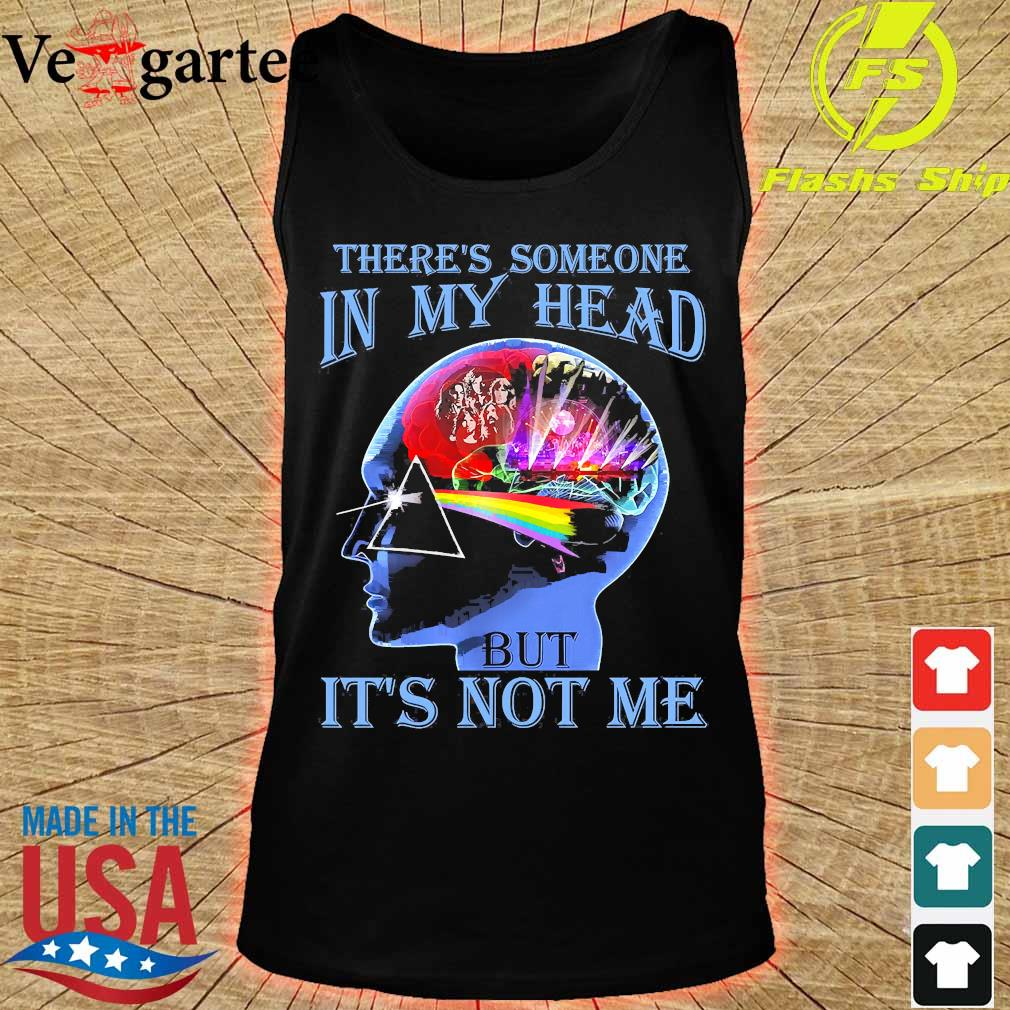 Pink Floyd there's someone in my head but it's not me s tank top