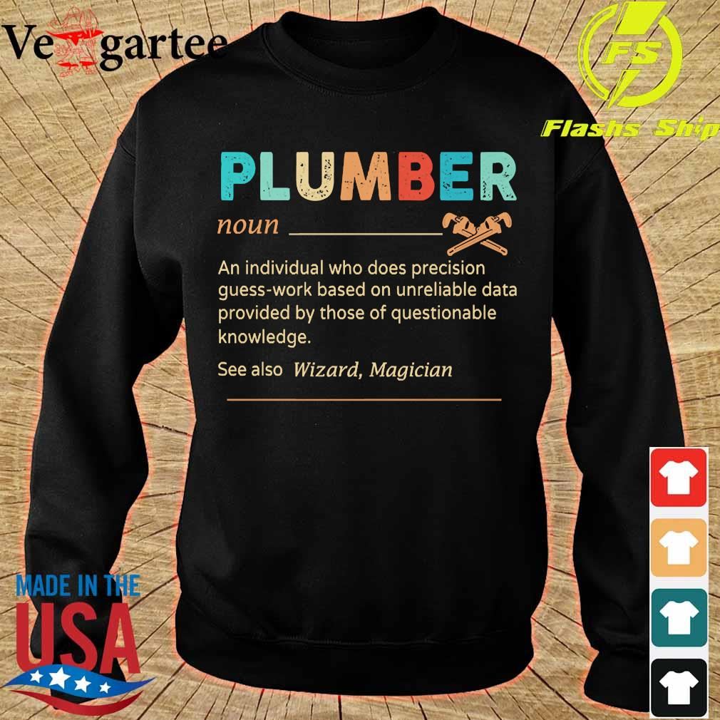 Plumber definition s sweater