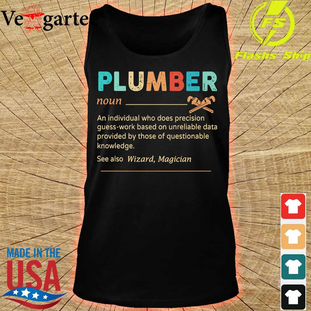 Plumber definition s tank top