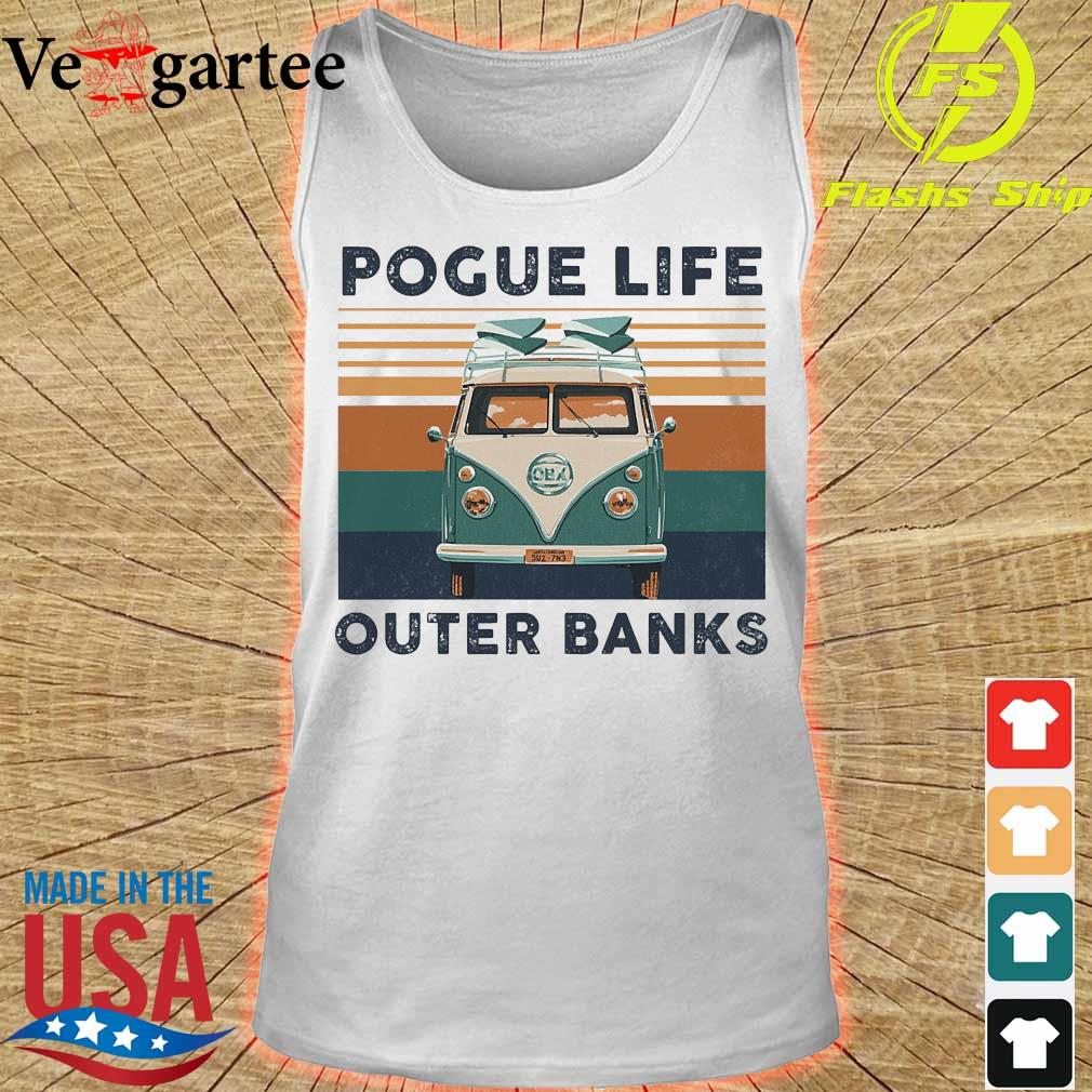 Pogue life outer banks vintage s tank top