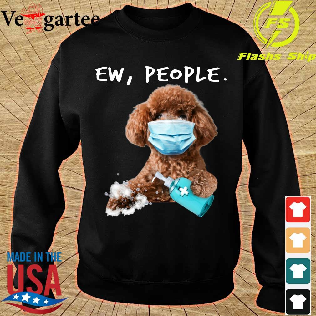 Poodle face mark Ew People s sweater