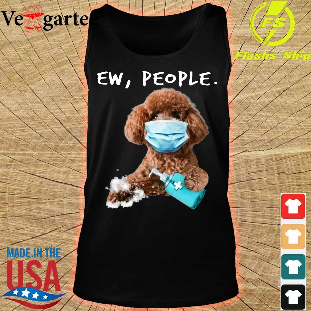 Poodle face mark Ew People s tank top