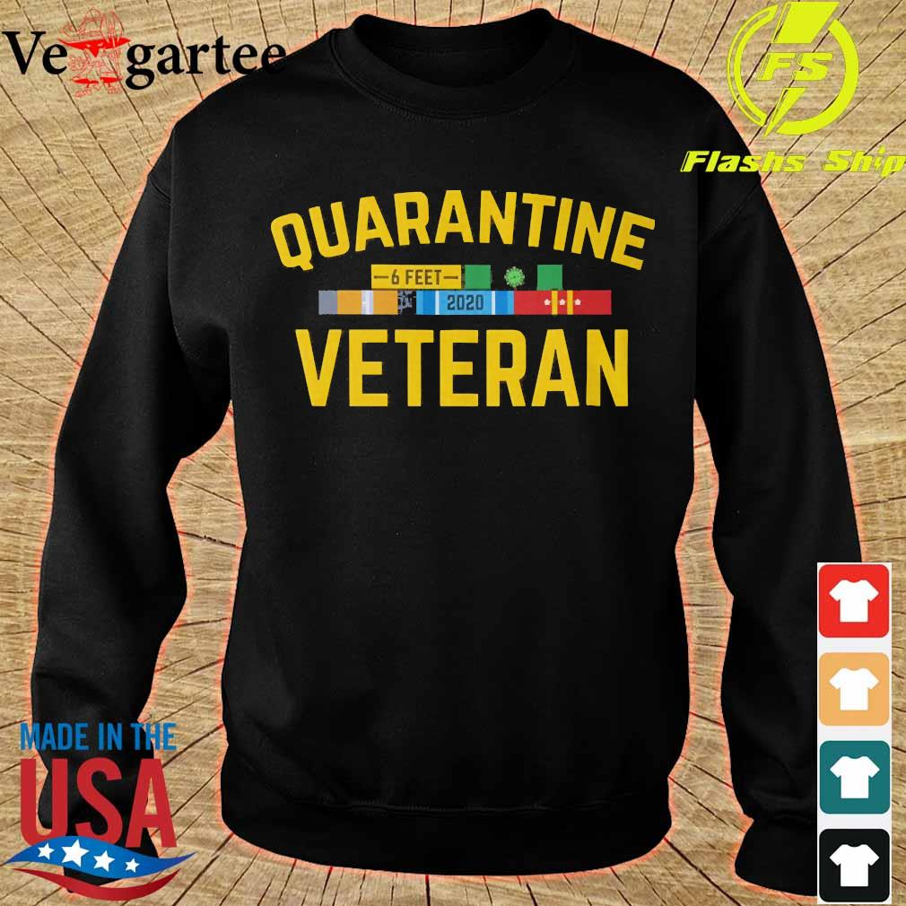 Quarantine Veteran Coronavirus 6 feet 2020 s sweater