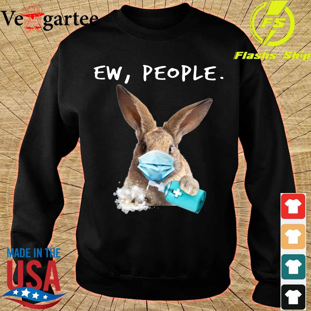 Rabbit face mask Ew People s sweater