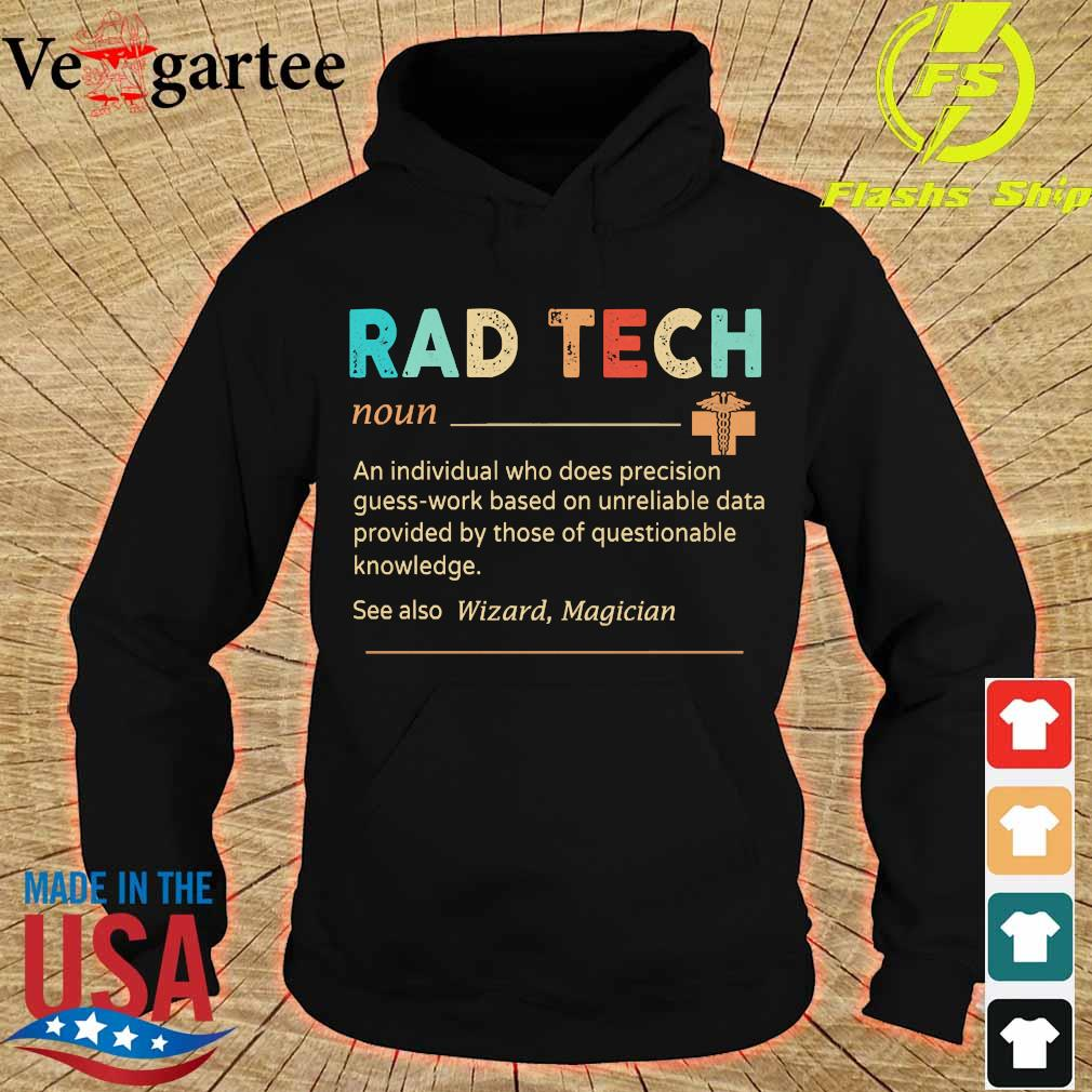 Rad Tech definition s hoodie