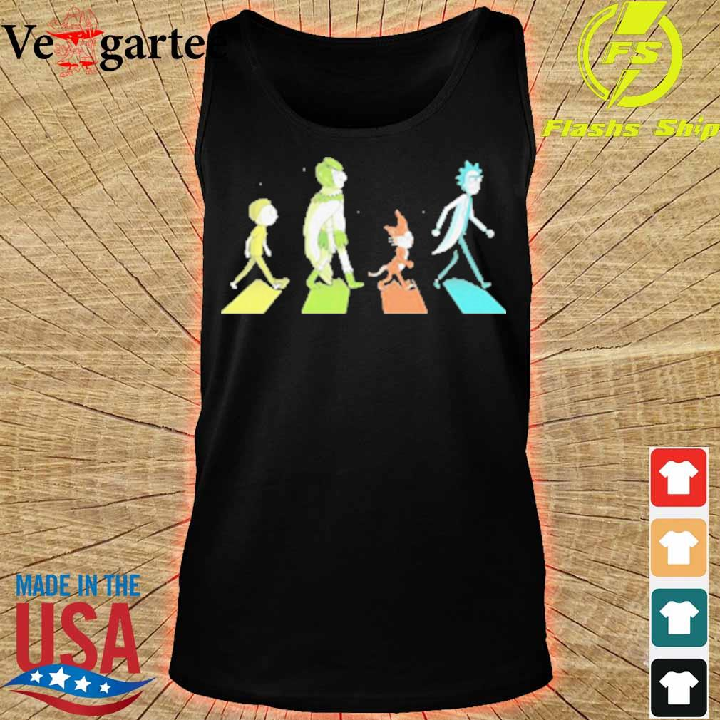 Rick and morty characters abbey road s tank top
