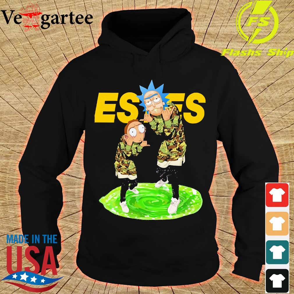 Rick and Morty Estes s hoodie