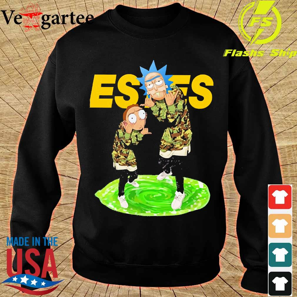 Rick and Morty Estes s sweater