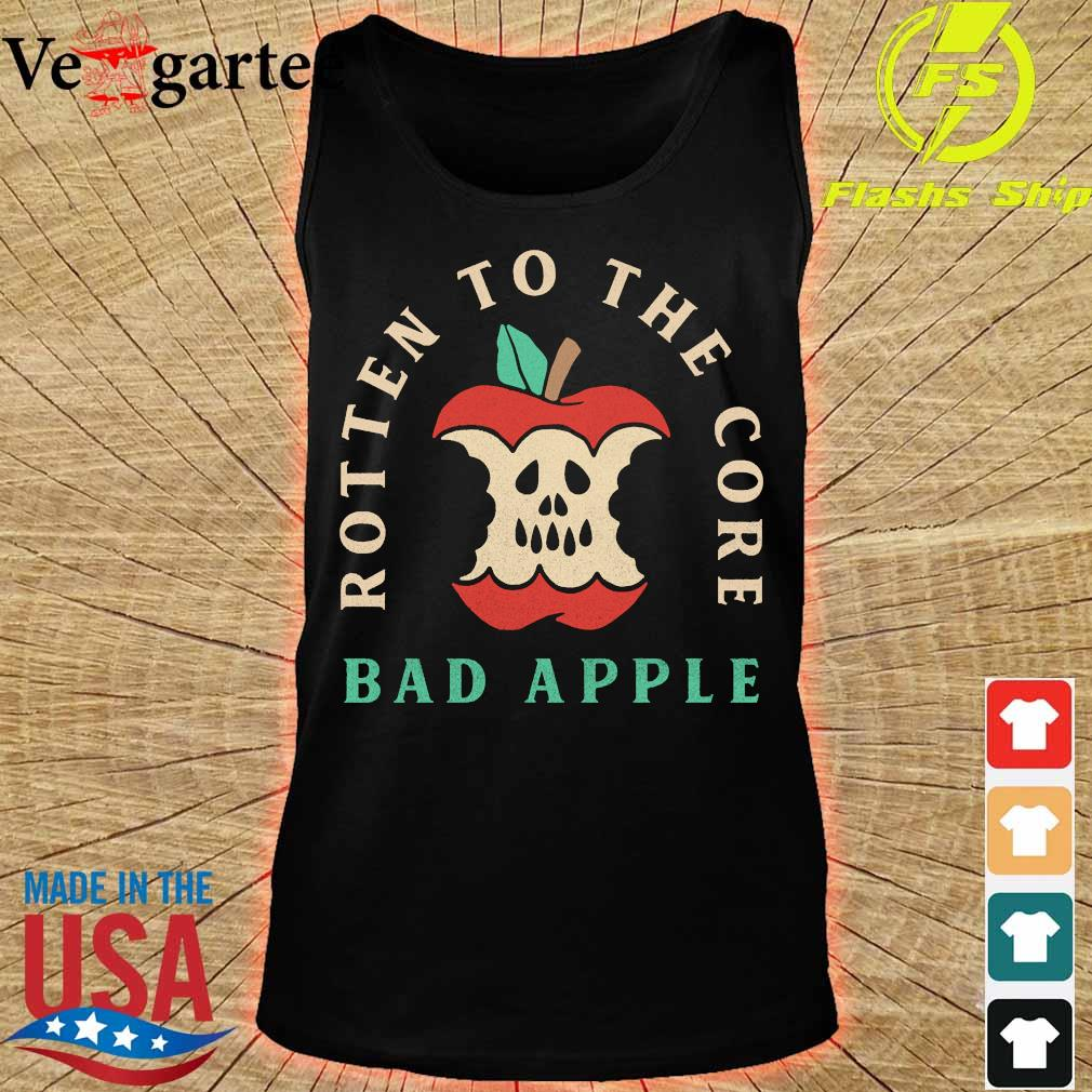 Rotten to the core bad apple s tank top