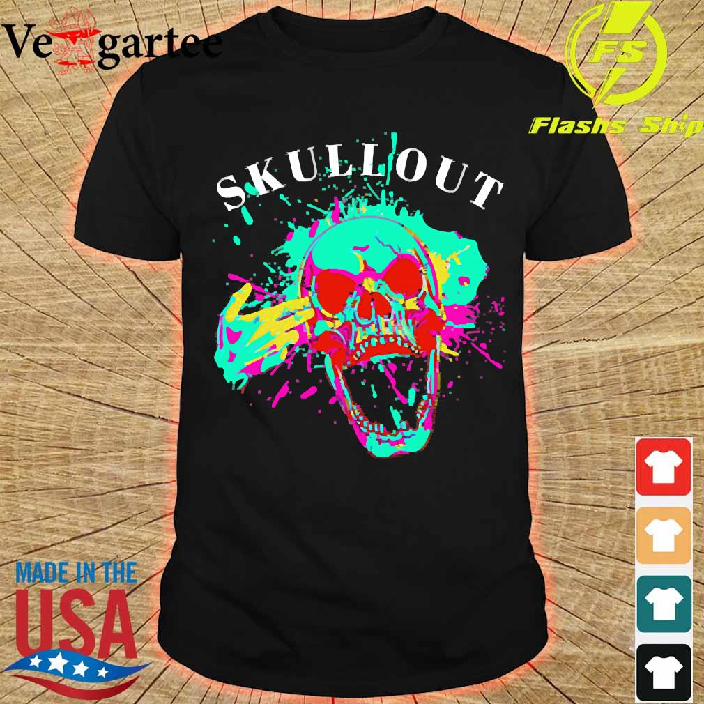 Skull out shirt