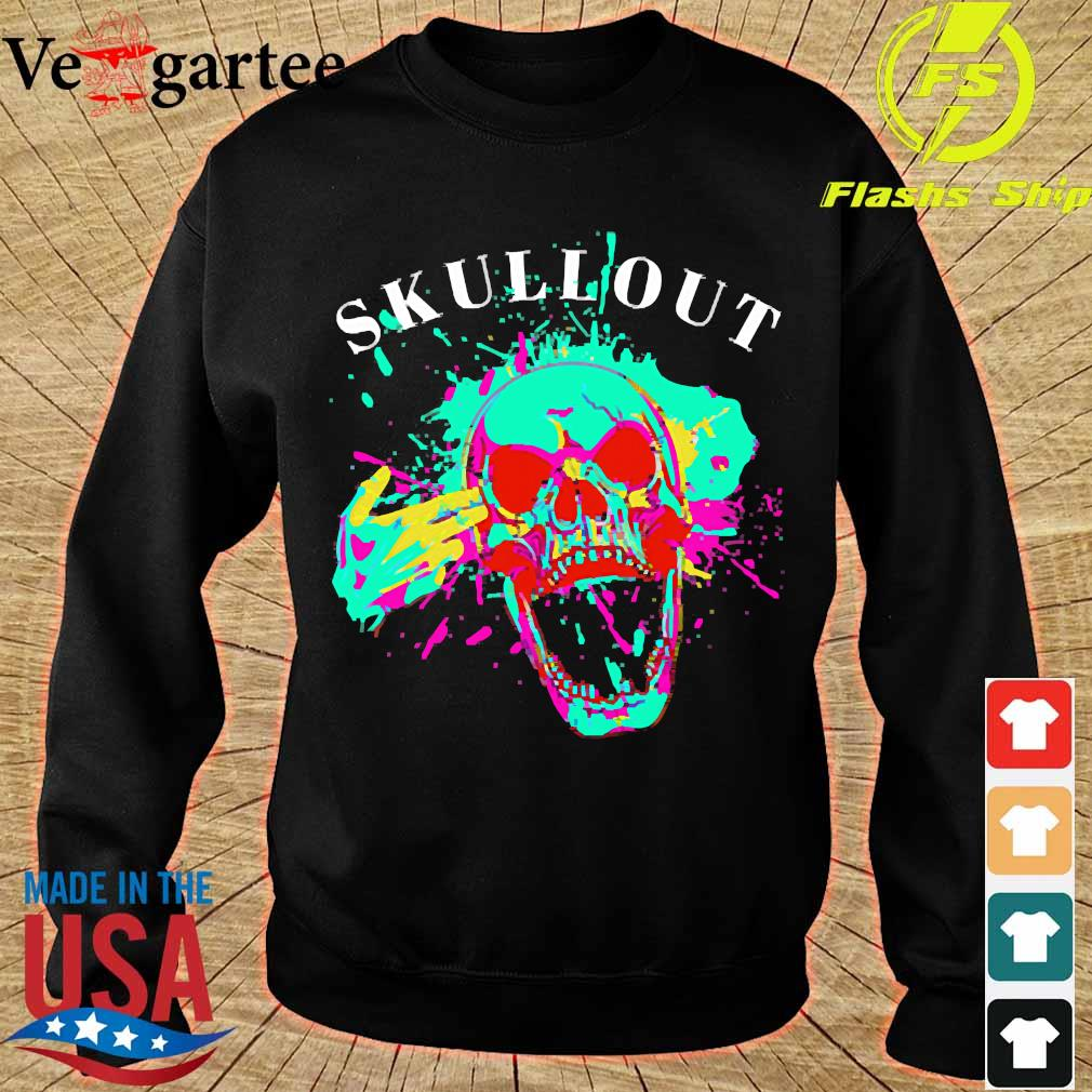 Skull out s sweater
