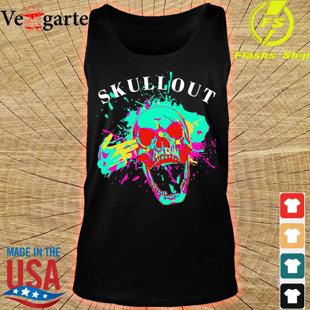 Skull out s tank top