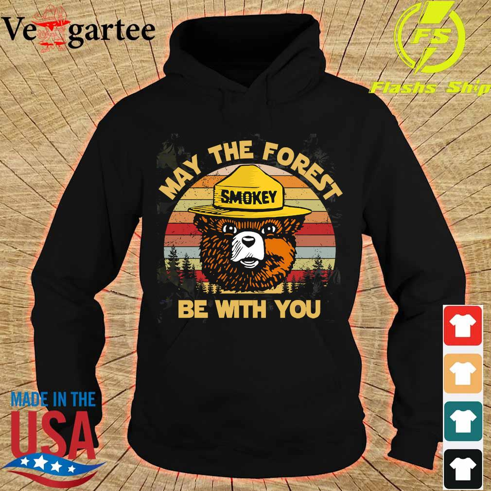 Smokey May the forest be with You vintage s hoodie