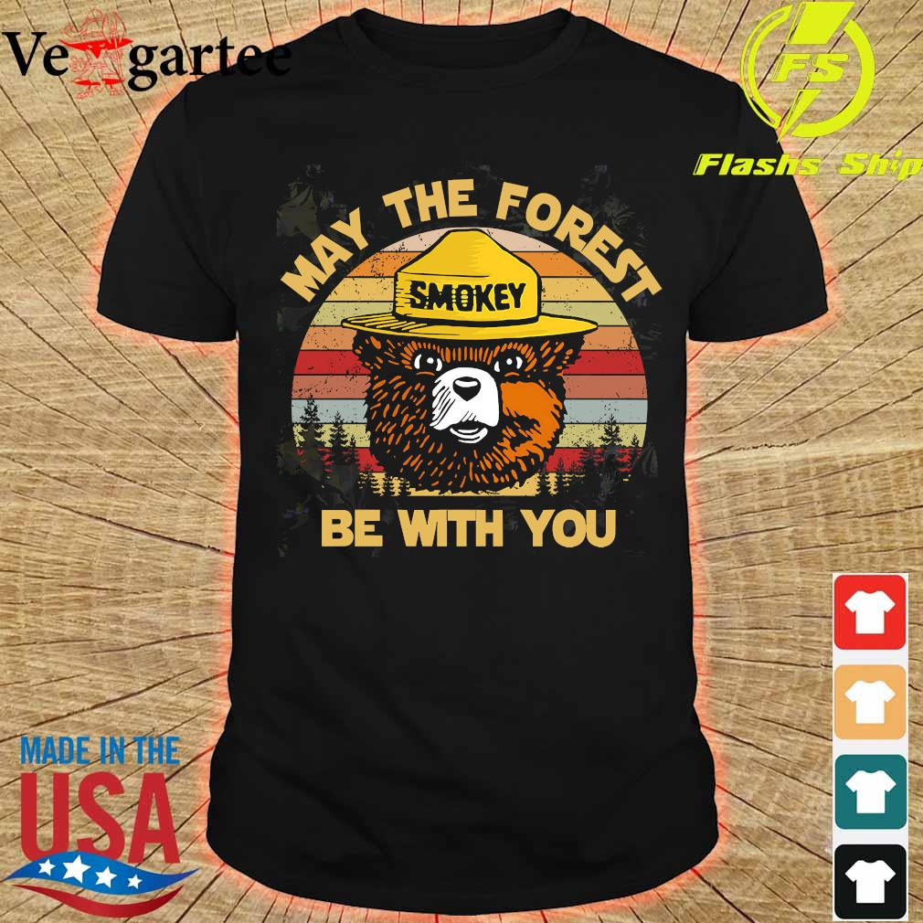 Smokey May the forest be with You vintage shirt