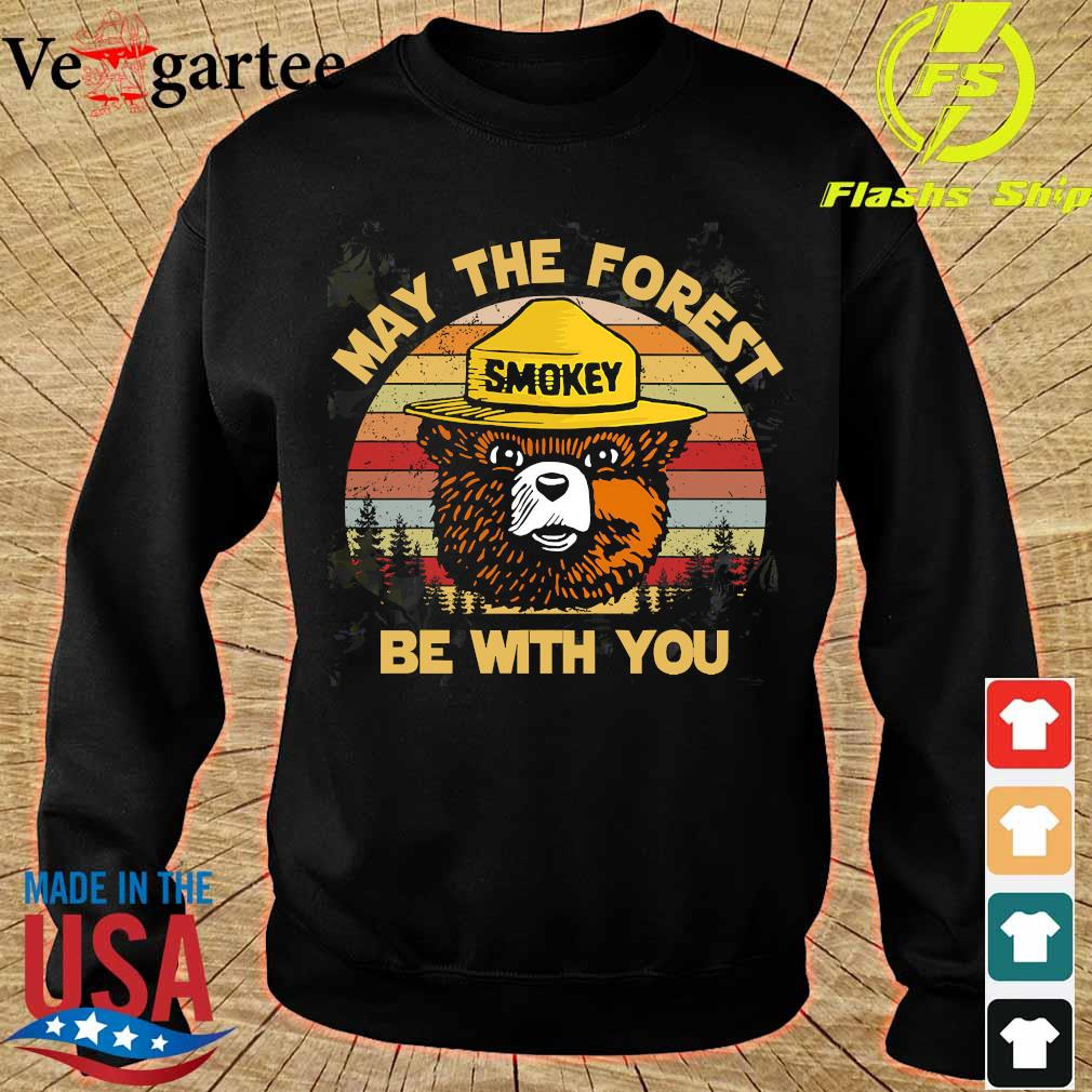Smokey May the forest be with You vintage s sweater