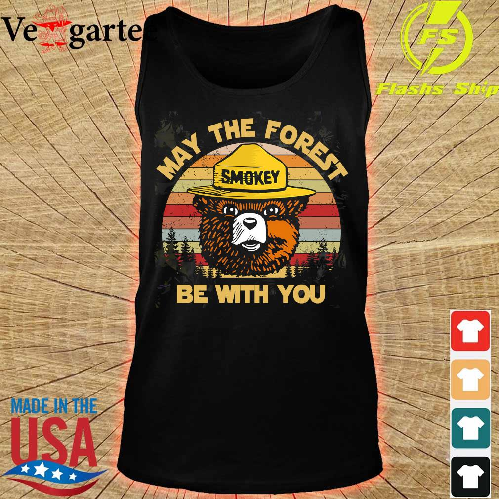 Smokey May the forest be with You vintage s tank top