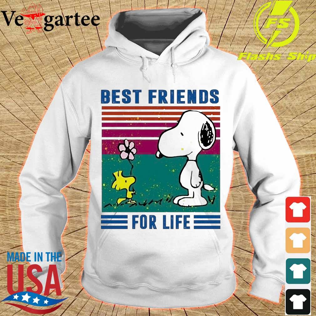 Snoopy and Woodstock best friends for life vintage s hoodie
