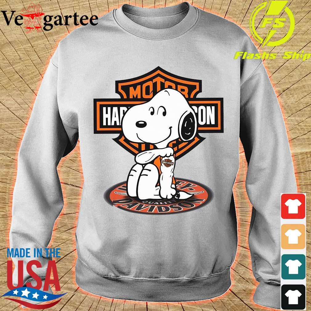 Snoopy tattoo Motor Harley Davidson Shirt sweater