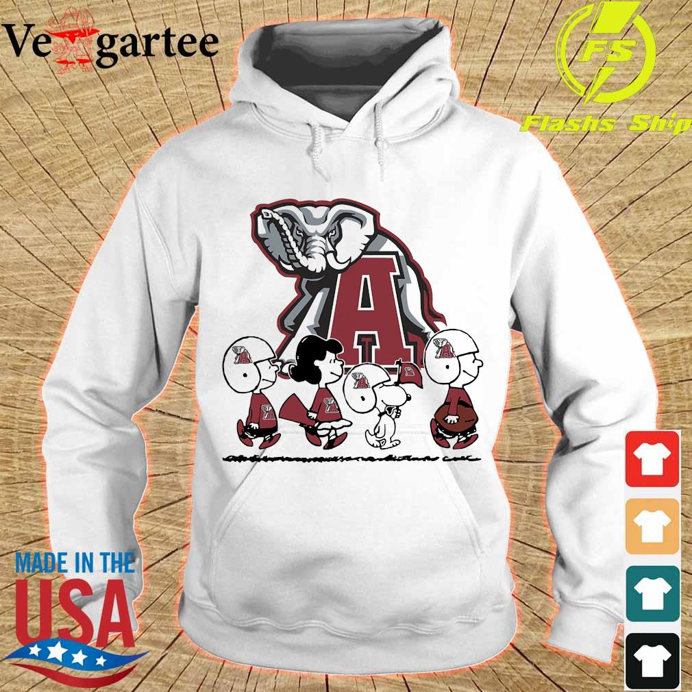 Snoopy The Peanuts Alabama Crimson Tide football s hoodie