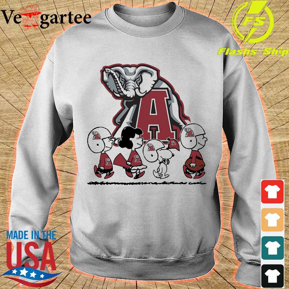 Snoopy The Peanuts Alabama Crimson Tide football s sweater
