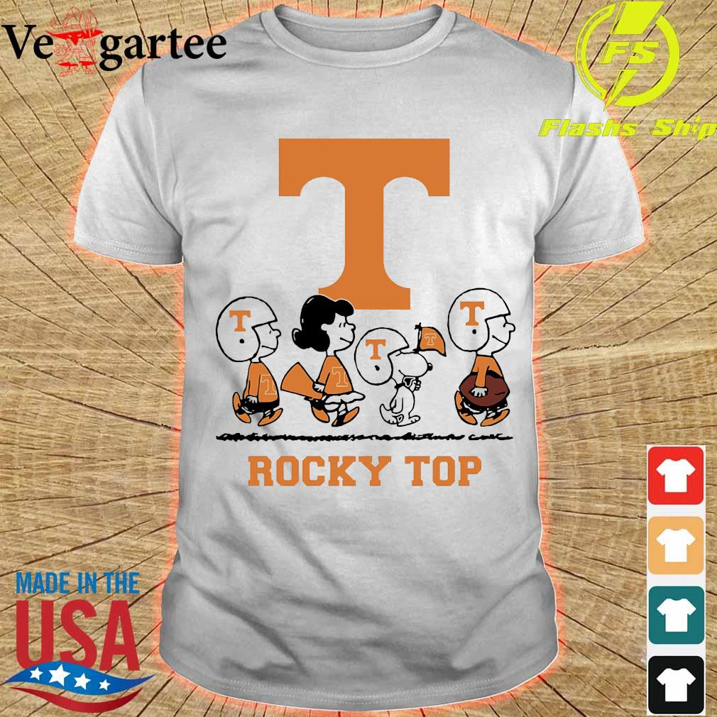 Snoopy The Peanuts Tennessee Volunteers shirt