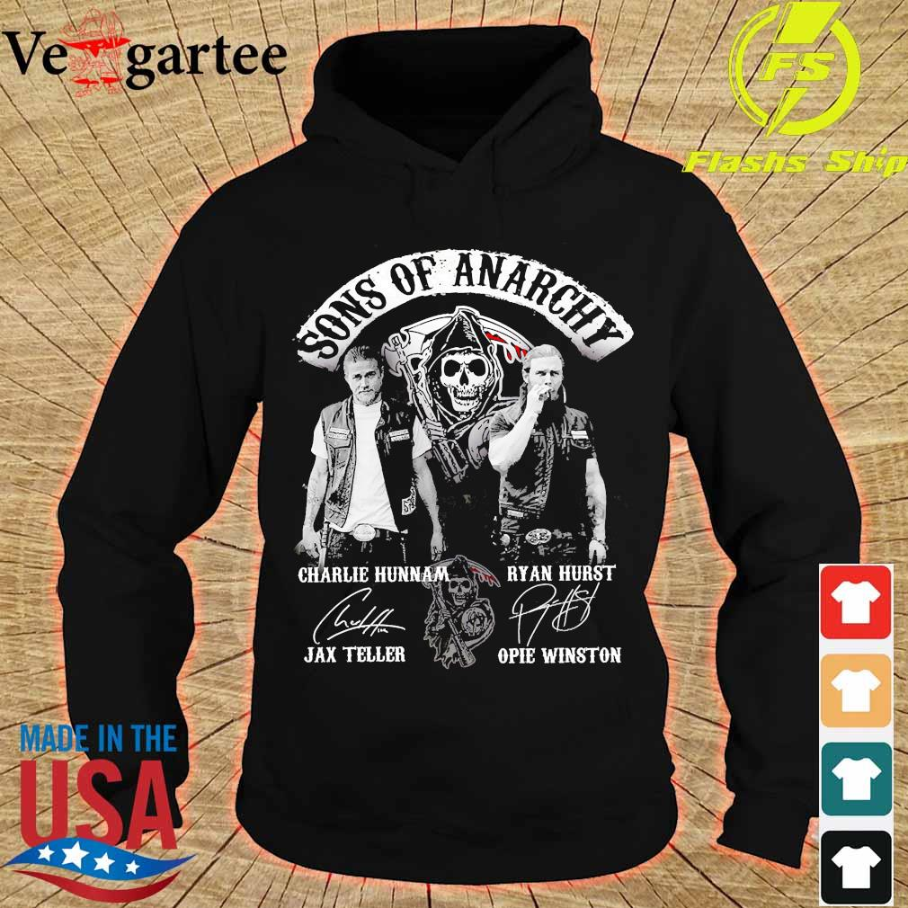 Sons of Anarchy character signatures s hoodie