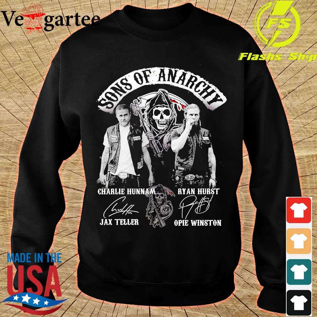 Sons of anarchy characters signatures s sweater