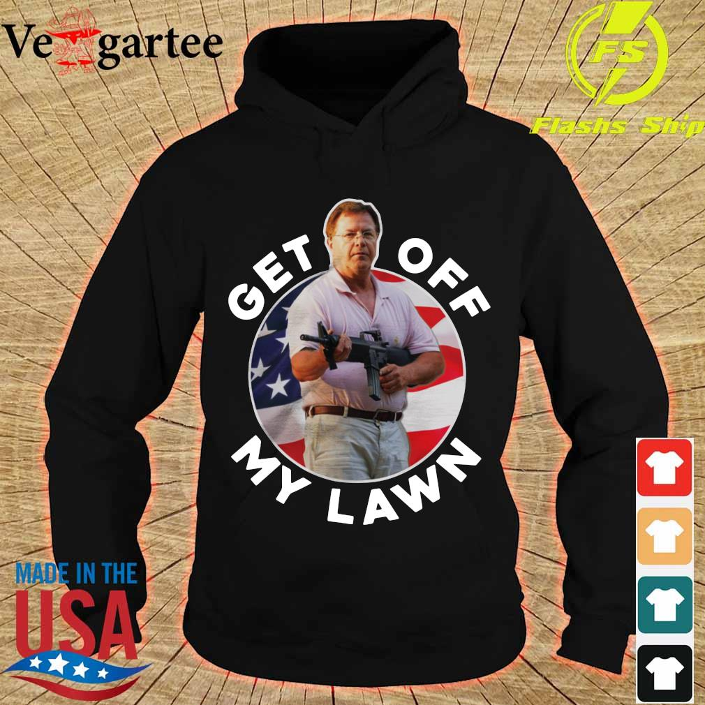ST Louis Couple Guns get out off my lawn s hoodie
