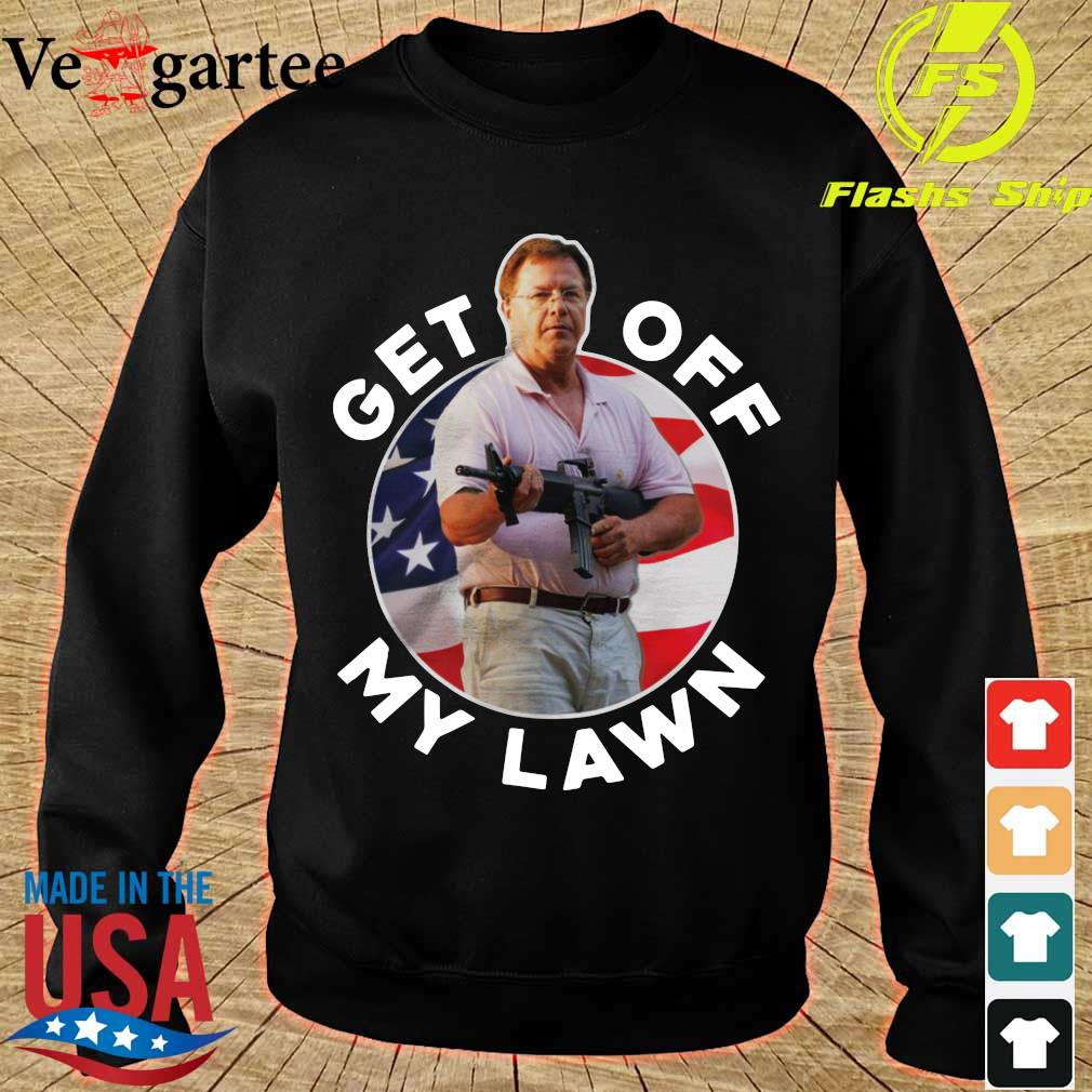 ST Louis Couple Guns get out off my lawn s sweater