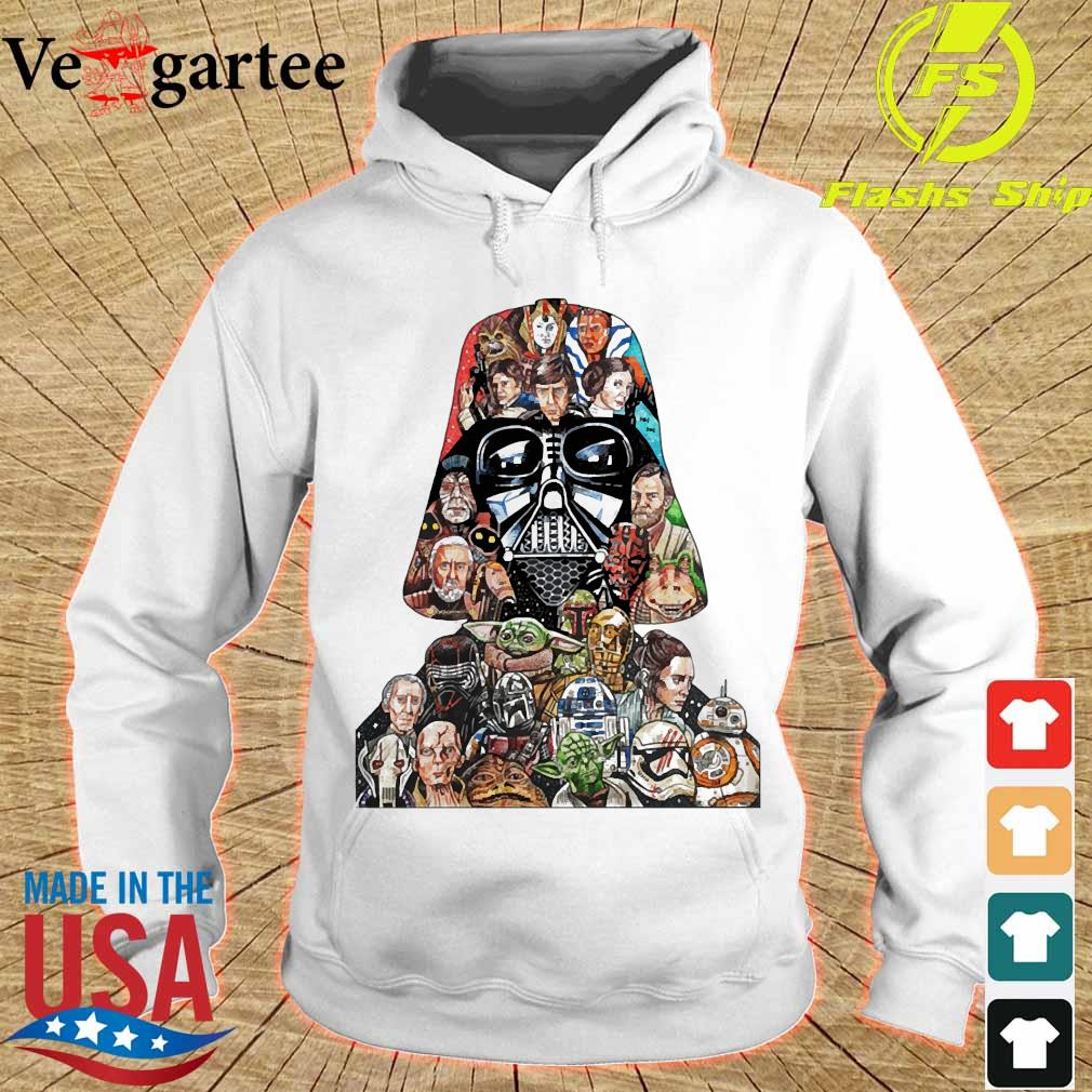 Star wars darth vader and characters s hoodie