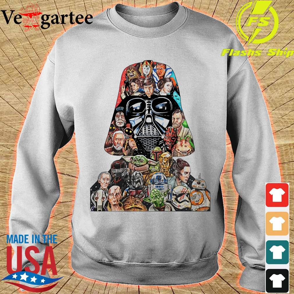Star wars darth vader and characters s sweater