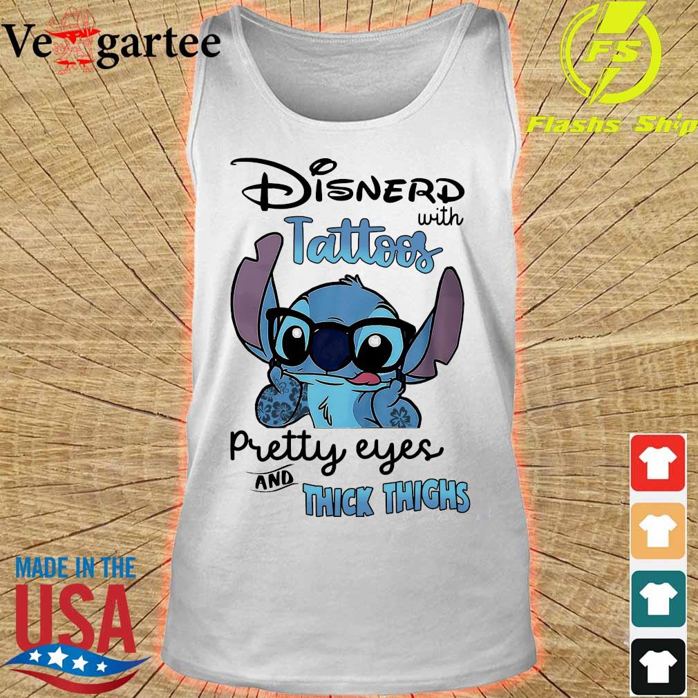 Stitch Disnerd with tattoos pretty eyes and thick thighs s tank top