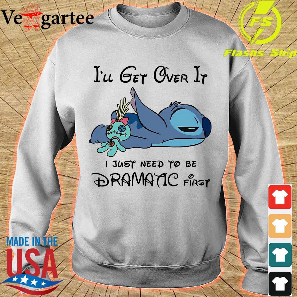 Stitch I'll get over it I just need to be dramatic first s sweater