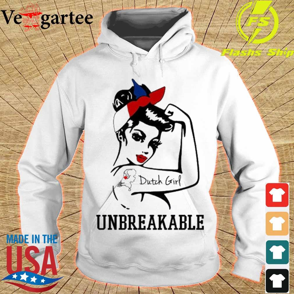 Strong Woman tattoo Dutch Girl unbreakable s hoodie