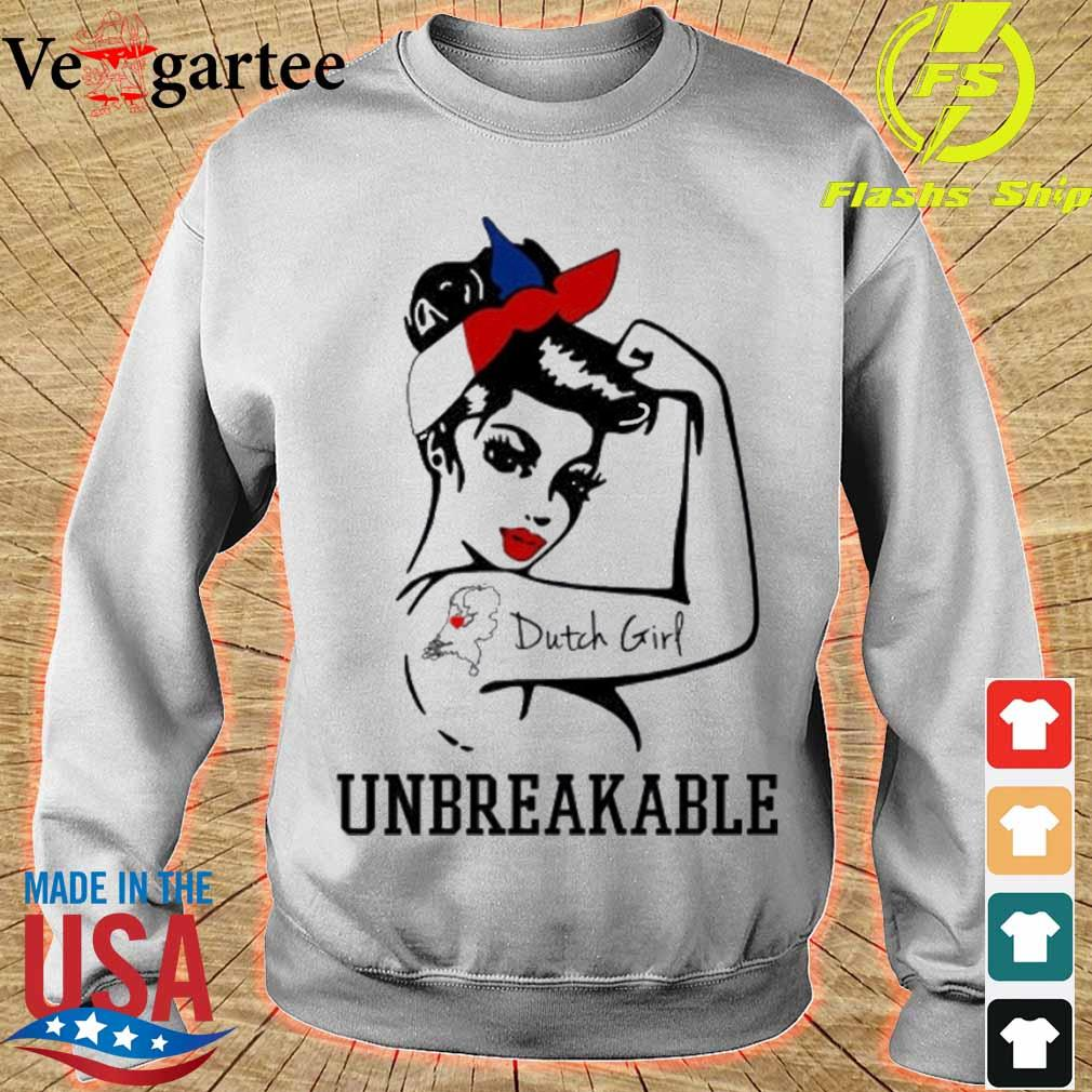 Strong Woman tattoo Dutch Girl unbreakable s sweater