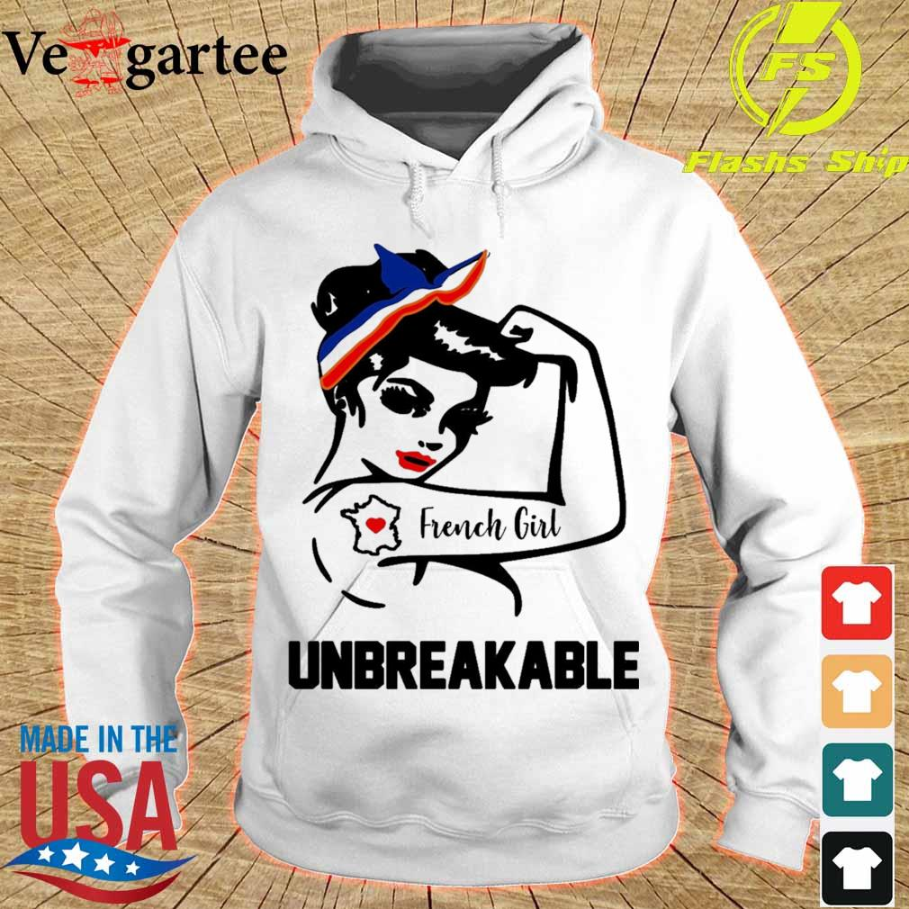 Strong Woman tattoo French Girl unbreakable s hoodie