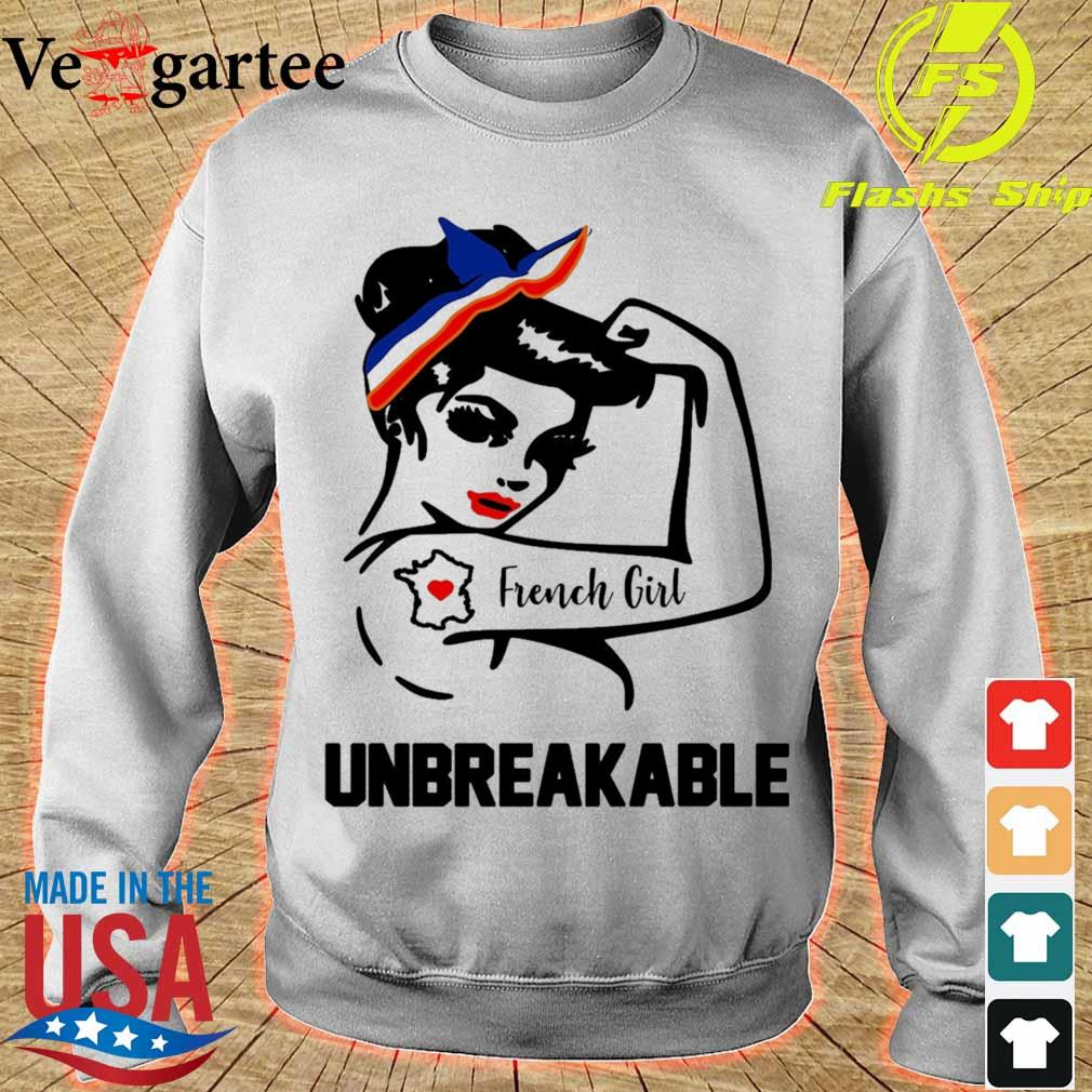 Strong Woman tattoo French Girl unbreakable s sweater