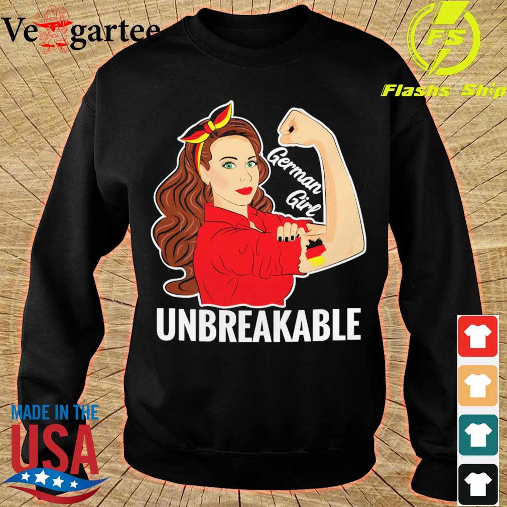 Strong Woman tattoo German Girl unbreakable s sweater