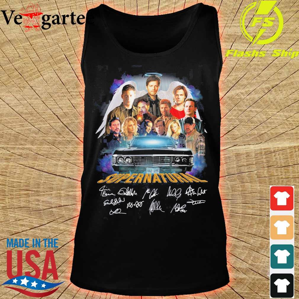 Supernatural wing signatures s tank top
